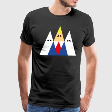 logo triangular de kk - Men's Premium T-Shirt