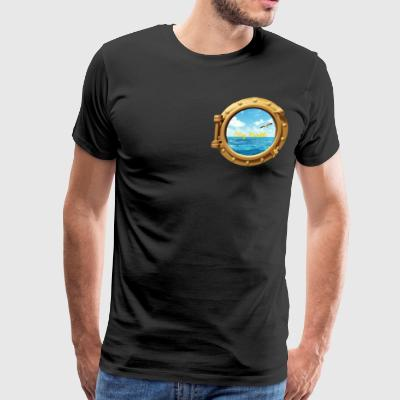 Ocean view - Men's Premium T-Shirt