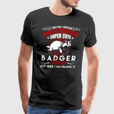 Super Cute Badger Lady Shirt - Men's Premium T-Shirt