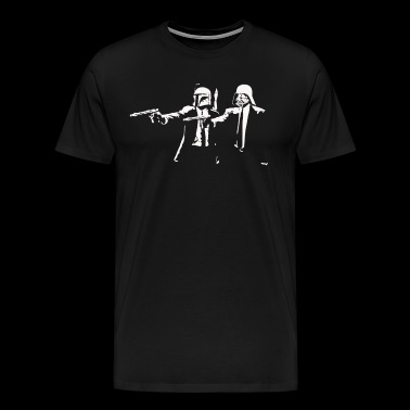 Cartoon Star Pulp Movie Fiction Parody - Men's Premium T-Shirt