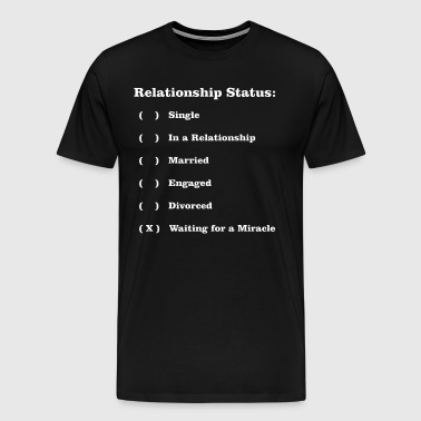 RELATIONSHIP STATUS - Men's Premium T-Shirt