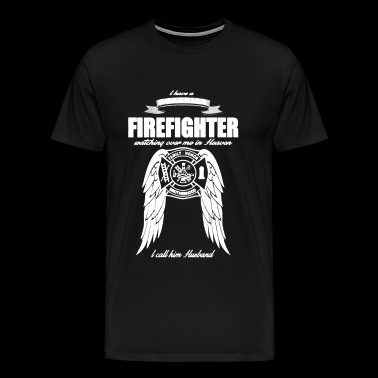 Guardian Firefighter Husband T Shirt - Men's Premium T-Shirt