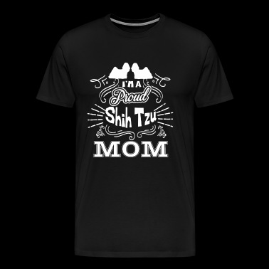 Shih Tzu Shih Tzu Mom - Men's Premium T-Shirt
