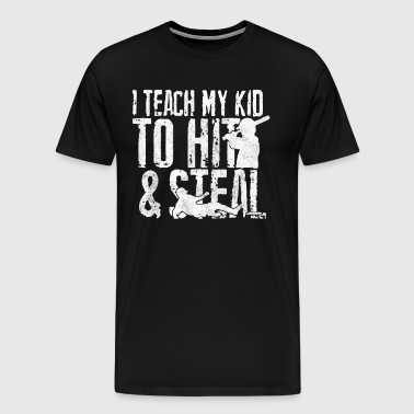 HIT and STEAL - Men's Premium T-Shirt