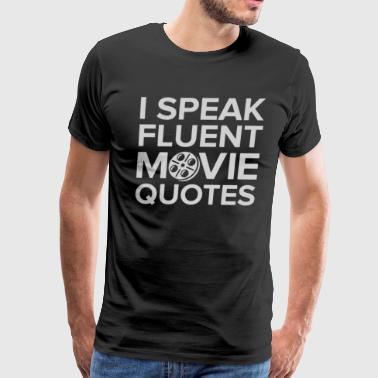 Movie Quotes - Men's Premium T-Shirt
