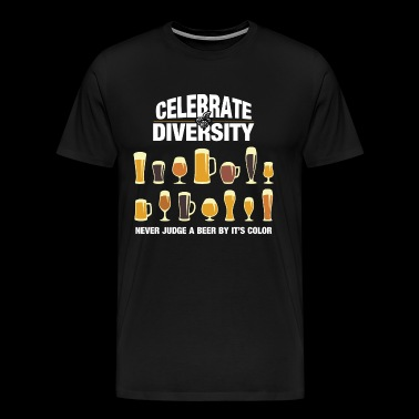Celebrate Beer Diversity - Men's Premium T-Shirt