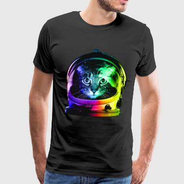 Astronaut Cat - Men's Premium T-Shirt
