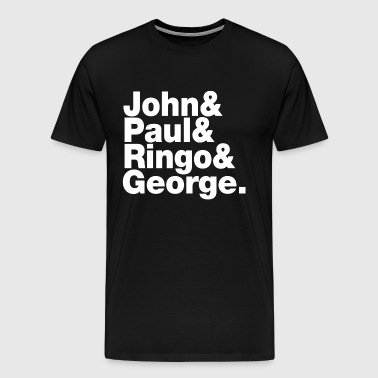 JOHN PAUL RINGO GEORGE - Men's Premium T-Shirt