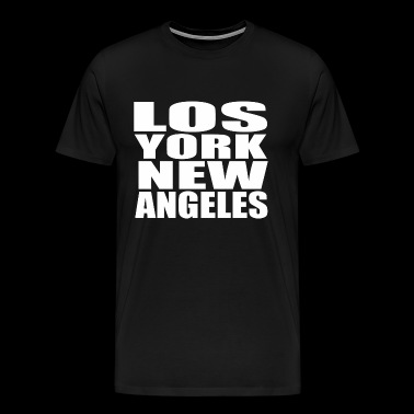 Los York New Angeles - Men's Premium T-Shirt