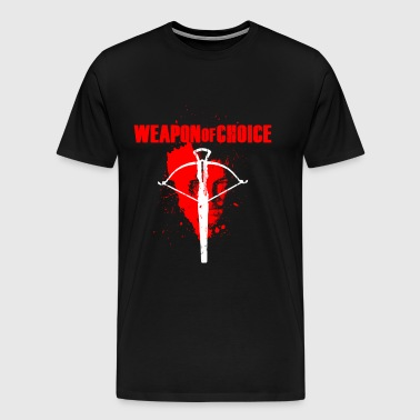 The walking dead - Daryl's weapon of choice tee - Men's Premium T-Shirt