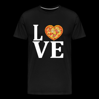 Pizza love gift idea food hunger replete fastfood - Men's Premium T-Shirt