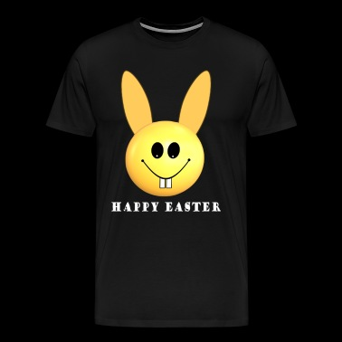 Happy Easter Bunny Smiley - Men's Premium T-Shirt