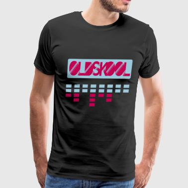 oldskool sound bar - Men's Premium T-Shirt