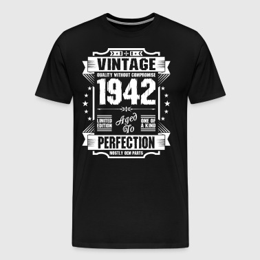 Vintage 1942 Perfection - Men's Premium T-Shirt