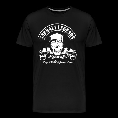 Trucker Asphalt Legends Member Shirt - Men's Premium T-Shirt