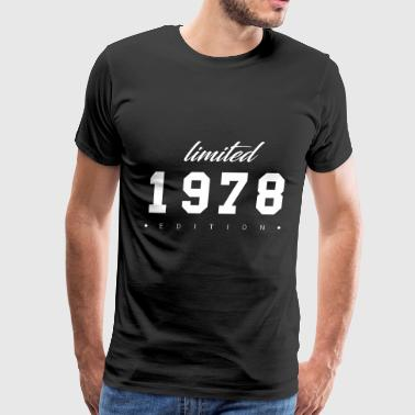 Limited Edition - 1978 (gift) - Men's Premium T-Shirt
