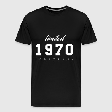 Limited Edition - 1970 (gift) - Men's Premium T-Shirt