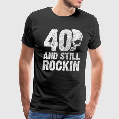 fortieth birthday - Men's Premium T-Shirt
