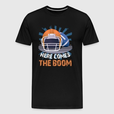 Football Here Comes The Boom - Men's Premium T-Shirt