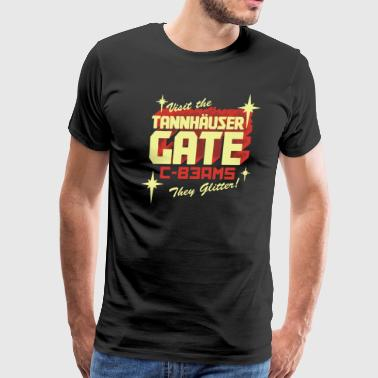 Tannhauser Gate Shirt - Men's Premium T-Shirt