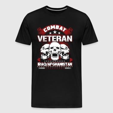 Combat Veteran Iraq And Afghanistan T-shirt - Men's Premium T-Shirt