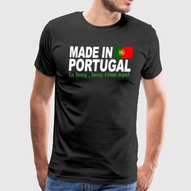 Made in Portugal a long long time ago - Men's Premium T-Shirt