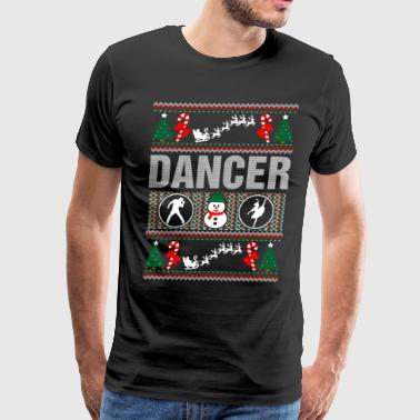 Dancer Ugly Christmas Sweater Xmas - Men's Premium T-Shirt