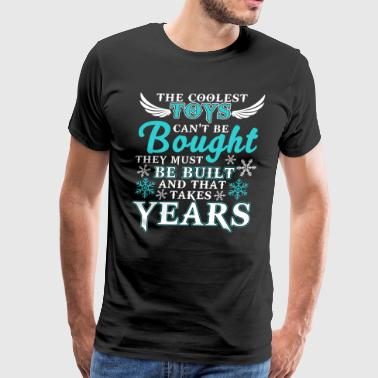 The Coolest Toys Can't Be Bought T Shirt - Men's Premium T-Shirt