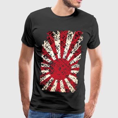 WW2 Pacific War Japanese Navy Flag - Men's Premium T-Shirt