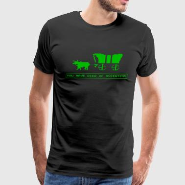 Oregon Trail - Men's Premium T-Shirt