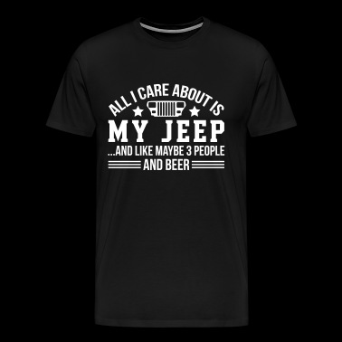 My Jeep And Beer - Men's Premium T-Shirt