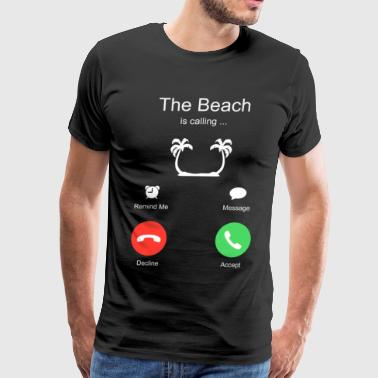 Beach Summer Holiday Surf - Men's Premium T-Shirt
