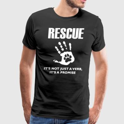 Rescue Dog Shirt - Men's Premium T-Shirt