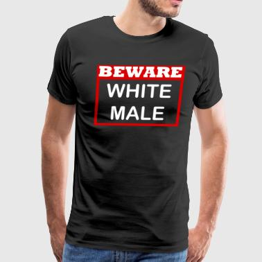 WHITE MALE SHIRT - Men's Premium T-Shirt