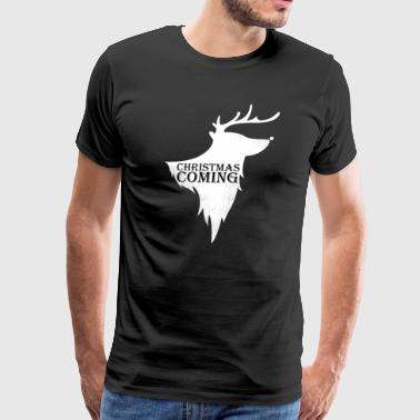 chrsitmass is coming - Men's Premium T-Shirt