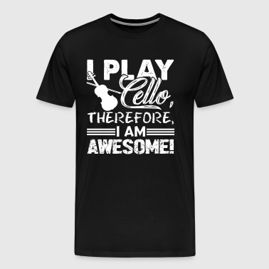I PLAY CELLO SHIRT - Men's Premium T-Shirt
