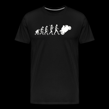 Evolution Motorcycle - Men's Premium T-Shirt