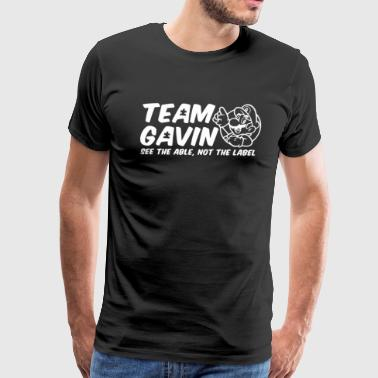 Team Gavin for the Walk for Autism - Men's Premium T-Shirt