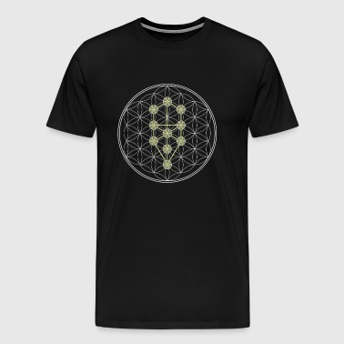 Tree of Life kabbalah - Men's Premium T-Shirt