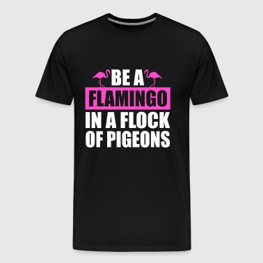 flamingo - Men's Premium T-Shirt