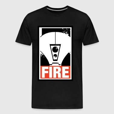 Fire Warrior - Tau - Men's Premium T-Shirt