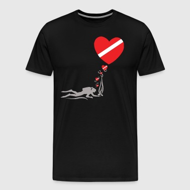 Love SCUBA - Men's Premium T-Shirt