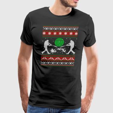 Softball Shirts - Softball Christmas Shirt - Men's Premium T-Shirt