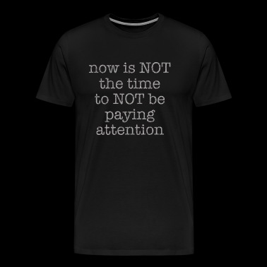 Vintage Paying Attention - Men's Premium T-Shirt