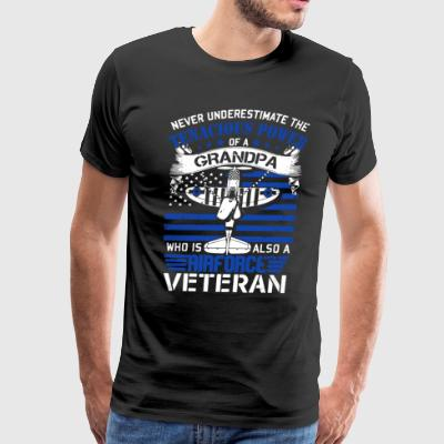 Air Force Veteran Shirt - Men's Premium T-Shirt