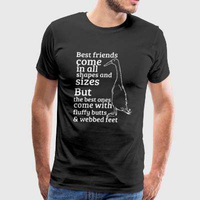 DUCK BEST FRIENDS SHIRT - Men's Premium T-Shirt