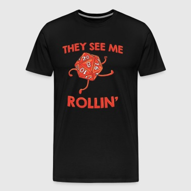 THEY SEE ME ROLLIN - Men's Premium T-Shirt