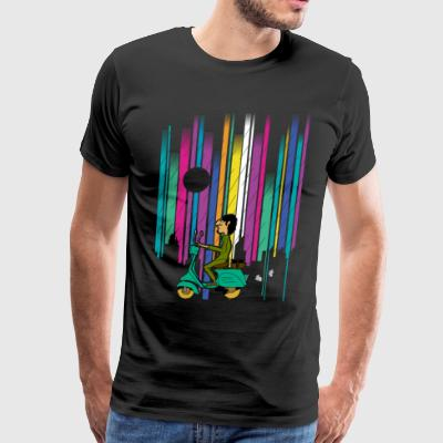 vespa t shirt design - Men's Premium T-Shirt