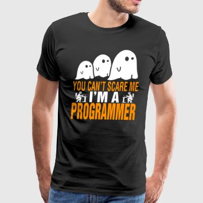 You Cant Scare Me Im Programmer Halloween - Men's Premium T-Shirt