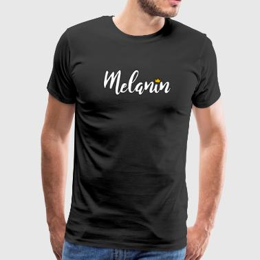 melanin stroke black - Men's Premium T-Shirt
